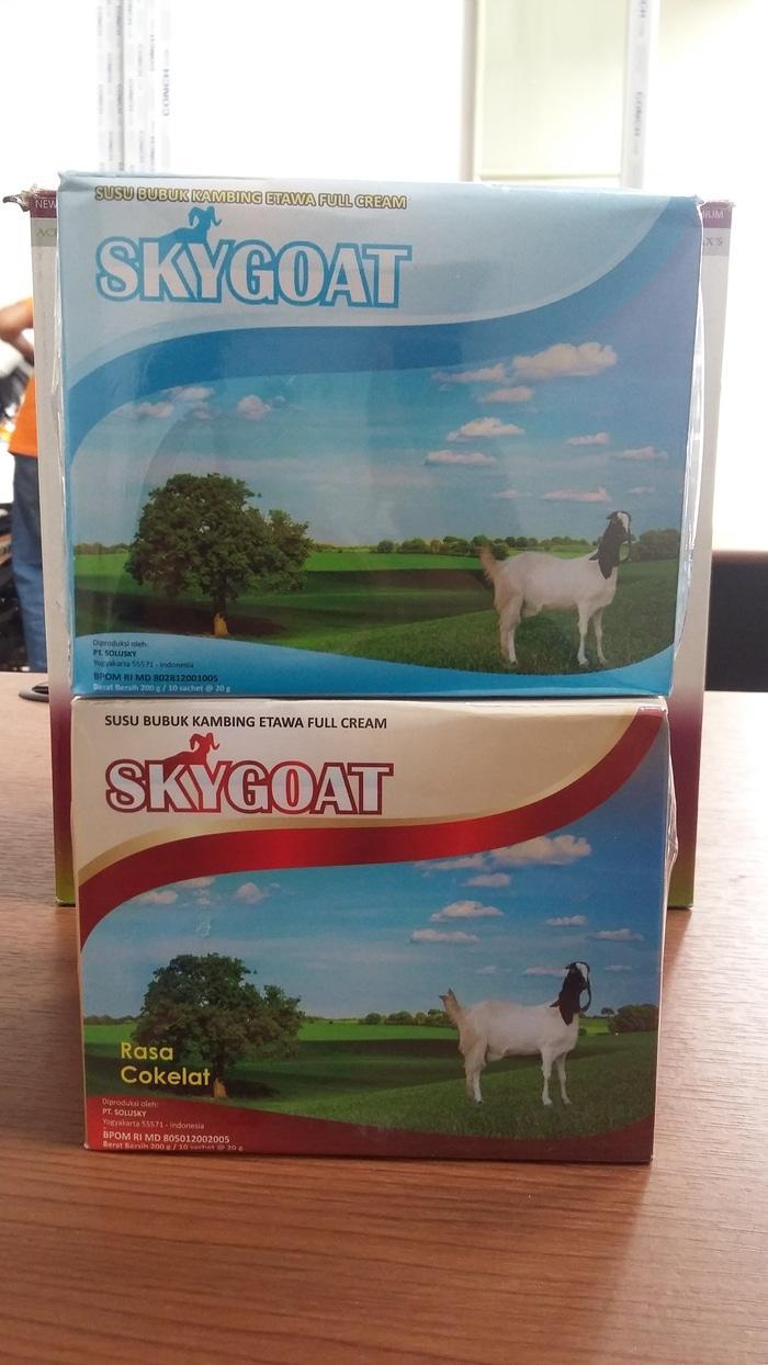 Susu Kambing Ettawa Skygoat Sejenis Gomars Gmp Nutri / Laziz By Anugrah Mall.