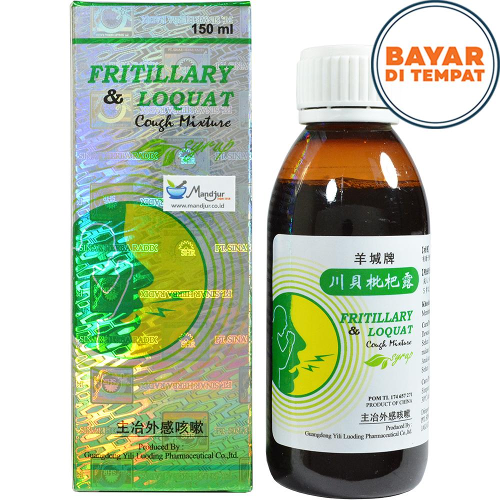 Fritillary and Loquat Cough Mixture Syrup - Sirup Obat Batuk Berdahak, Batuk Kering, Batuk Pilek, Sesak Napas