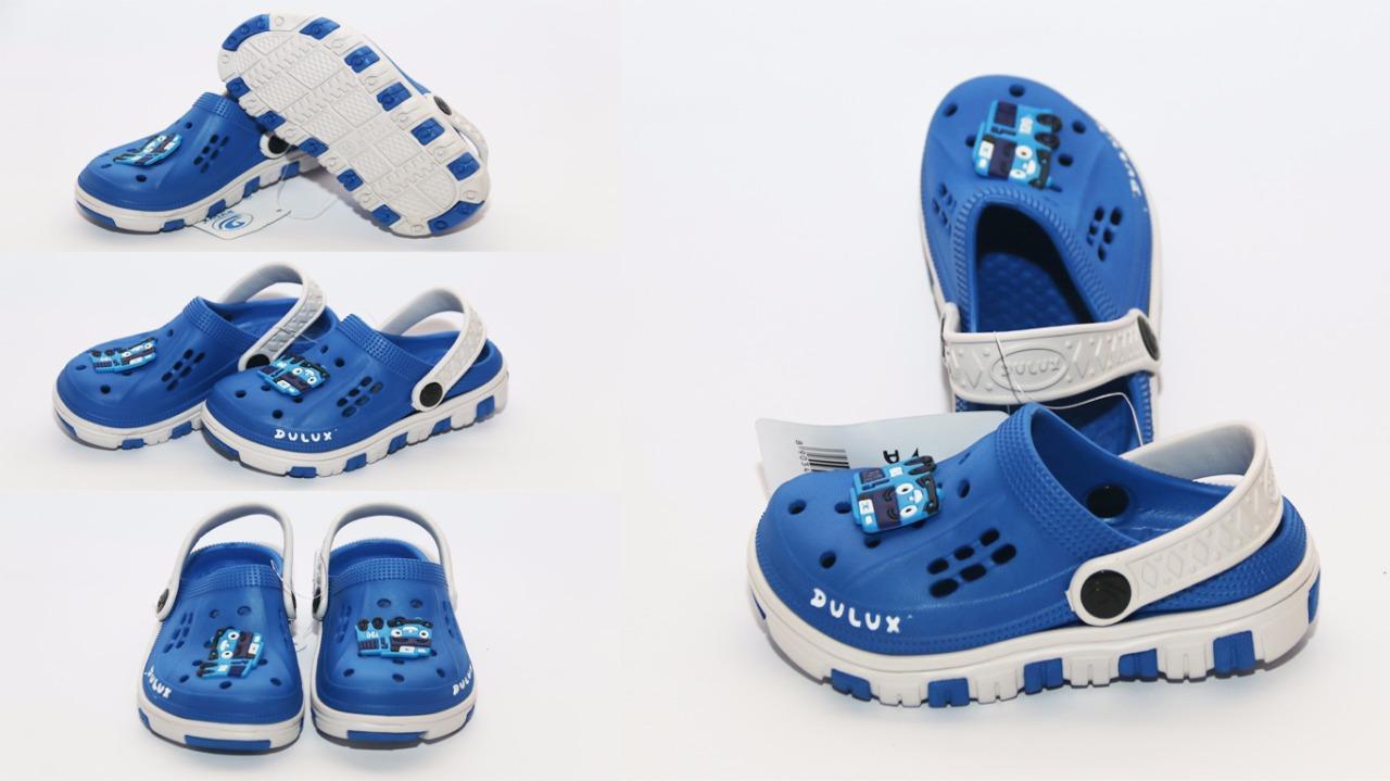 zemma store - sandal karet anak model crocs