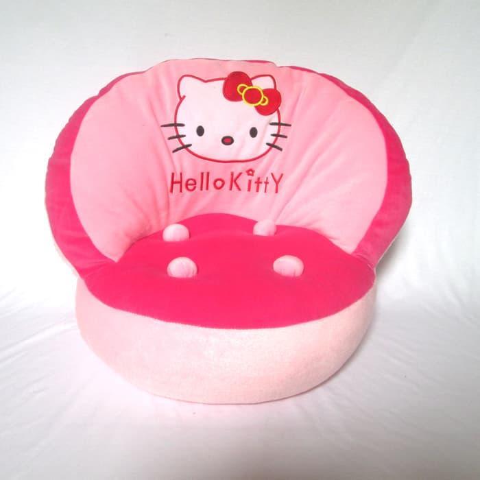 Sofa kerang karakter hello kitty lucu banget Boneka04956