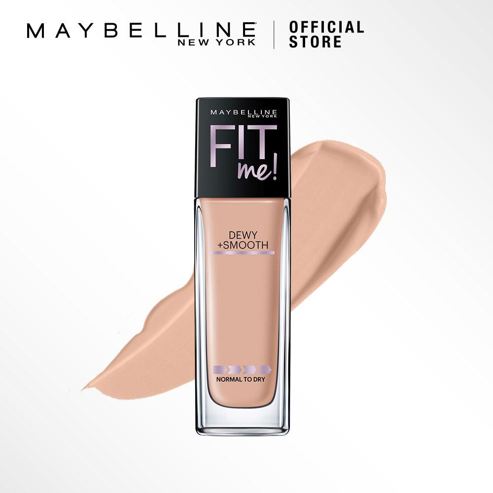 Maybelline Fit Me Dewy + Smooth Foundation - 125 Nude Beige