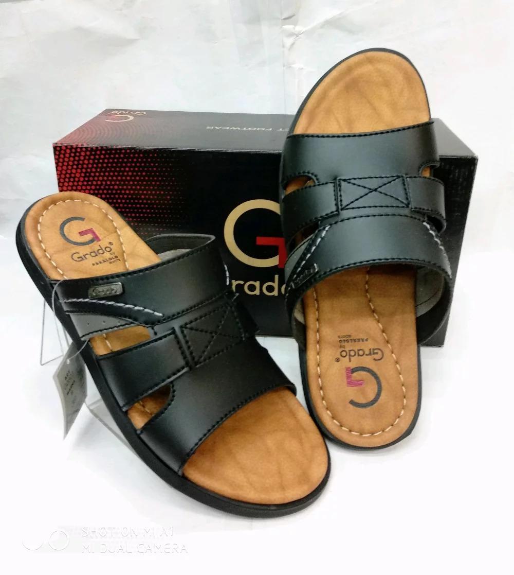 Sandal Pria Grado G0803 - Black