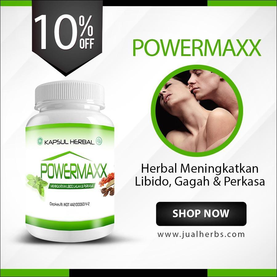Obat Herbal Kuat Pria Atasi Impotensi dan Disfungsi Ereksi --... Powermaxx--..