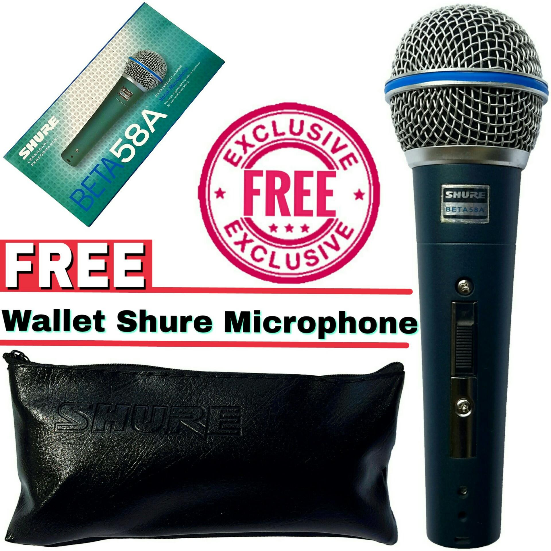 Jual Produk Shure Terbaru Mic Kabel Cina Beta 58a Sk Plus Switch On Off Supercardioid Dynamic Vocal Microphone