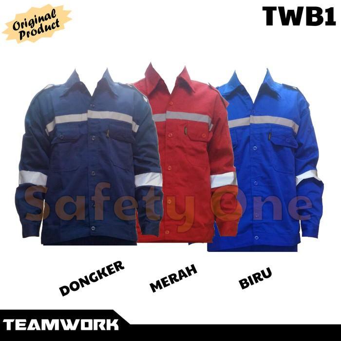 Teamwork Twb1 Atasan Lengan Panjang - Wearpack Baju Kerja Safety - Bo9to6