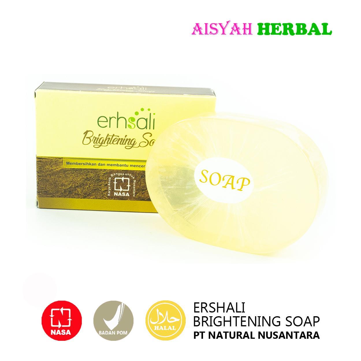 Ershali Brightening Soap Sabun Pencerah & Pemutih Kulit Muka Asli NASA
