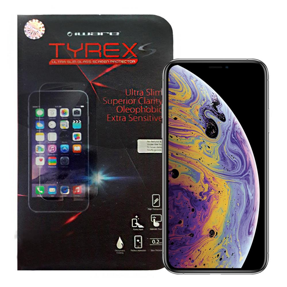 Tempered Glass iPhone XS / iPhone X Tyrex S Slim 0.2mm Screen Protector