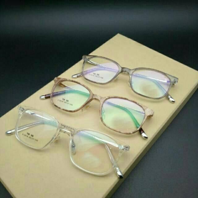 Frame Kacamata  212616 | Gratis Lensa Minus | Kacamata Antiradiasi | Kacamata Masakini Variasi GREY+ LENSA