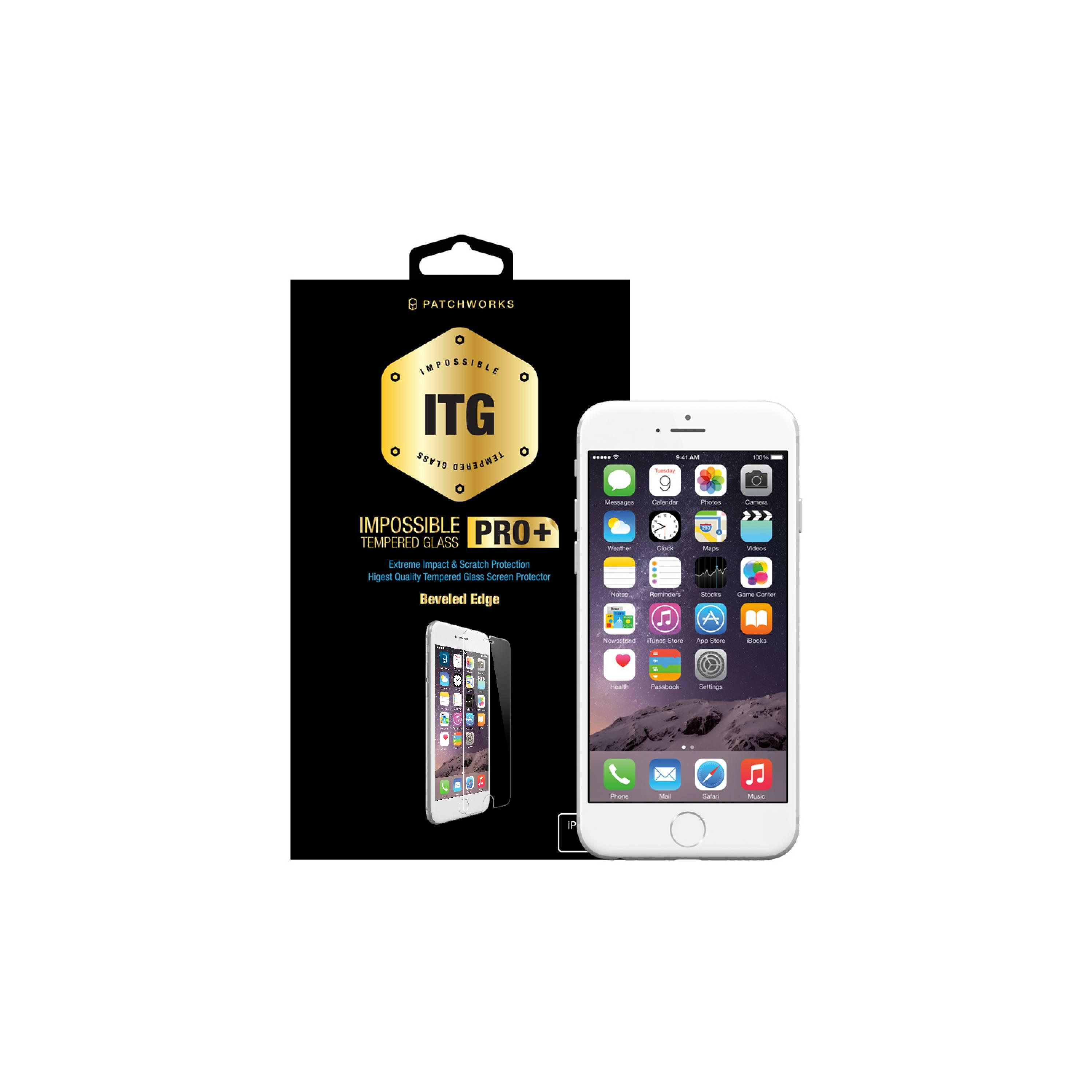 Colorant iPhone 5S USG ITG Pro Plus - Glass Clear [Packing Rusak]
