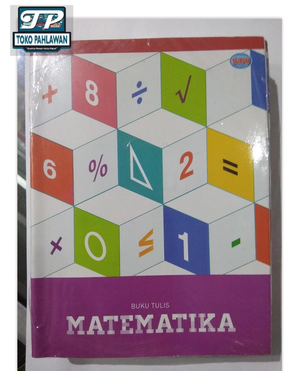 Buku Tulis Matematika Kotak-kotak SiDu 1 pak 36 lembar / atk / pulpen / kotak / pensil / bolpoint / sekolah / sd / smp / anak / tipex / penggaris / penghapus / ujian / kantor / joyko / standard / kiki / lukis / gambar /