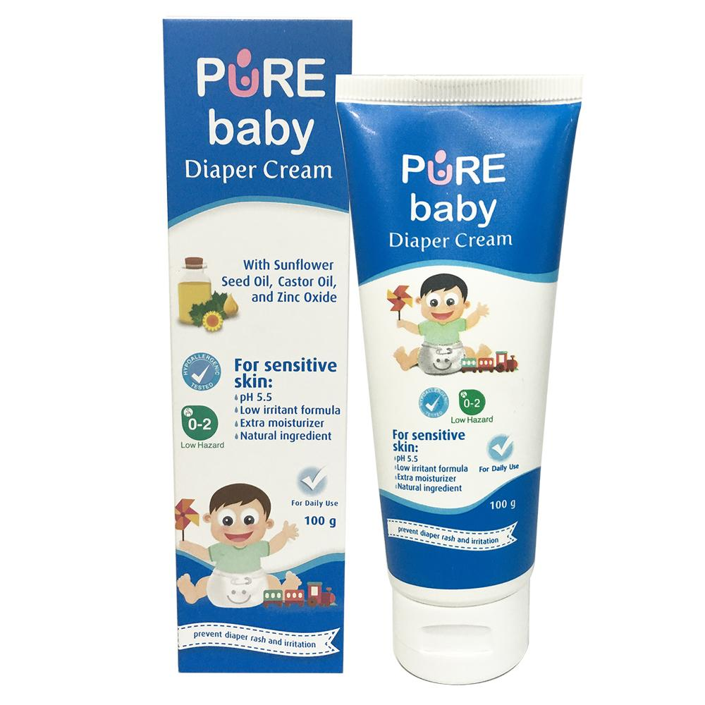 Body Lotion Bayi Terlengkap Cussons Baby Cream Soft Smooth 100gr Pure Diaper