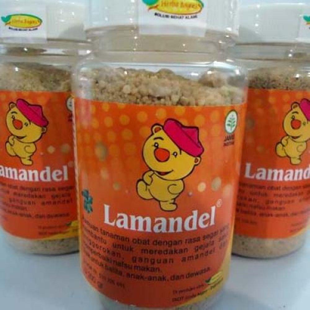 LAMANDEL Bubuk Obat Herbal Atasi Amandel