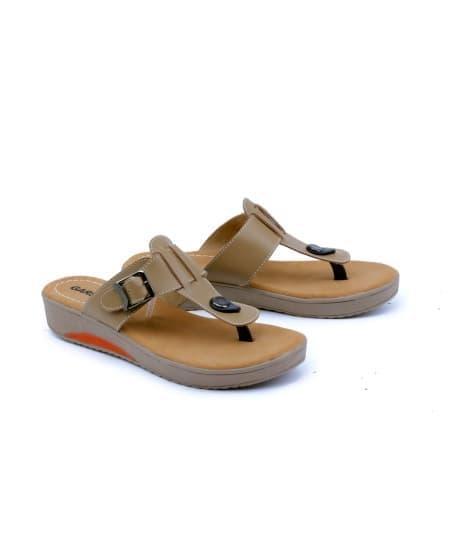 Sandal wanita/sandal perempuan Sendal Jepit Main Trendy Wanita Sandal Wanita harga Murah kualitas Bagus model terbaru keluaran terbaru harga murah warna coklat