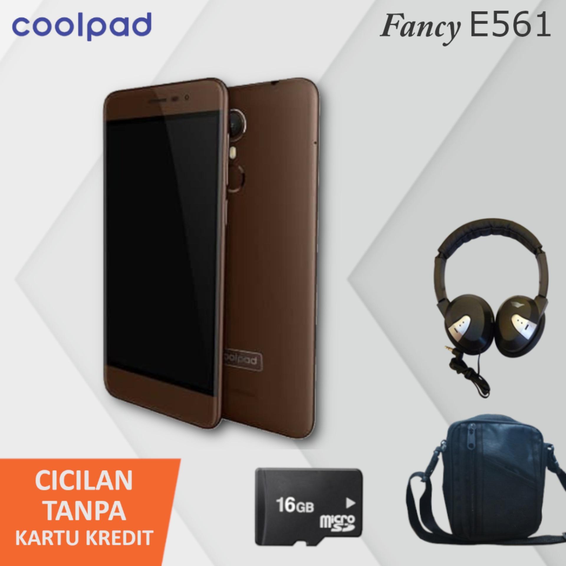 Handphone Coolpad Series Terbaru Ume Leather Case Sarung For Sky 3 E502 Flipshell Flipcover Fancy E561