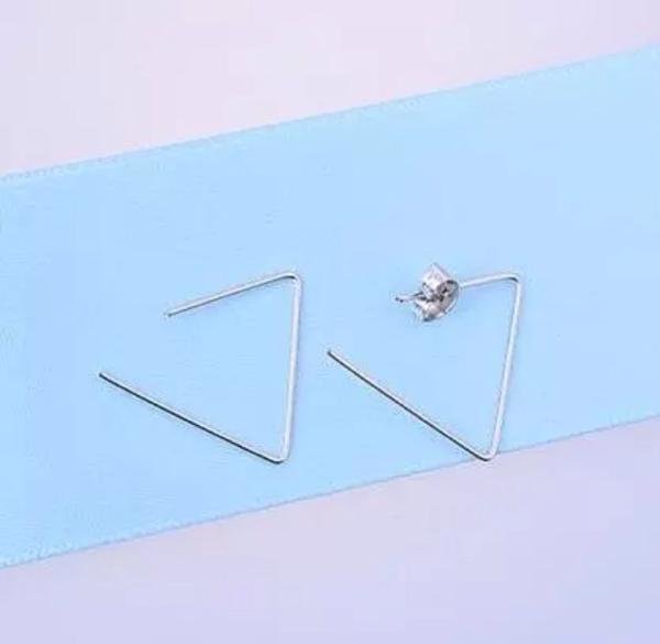 LRC Anting Tusuk Personalized Gold Color Rhombus Shape Pendant Decorated Pure Color Earrings . Source ·