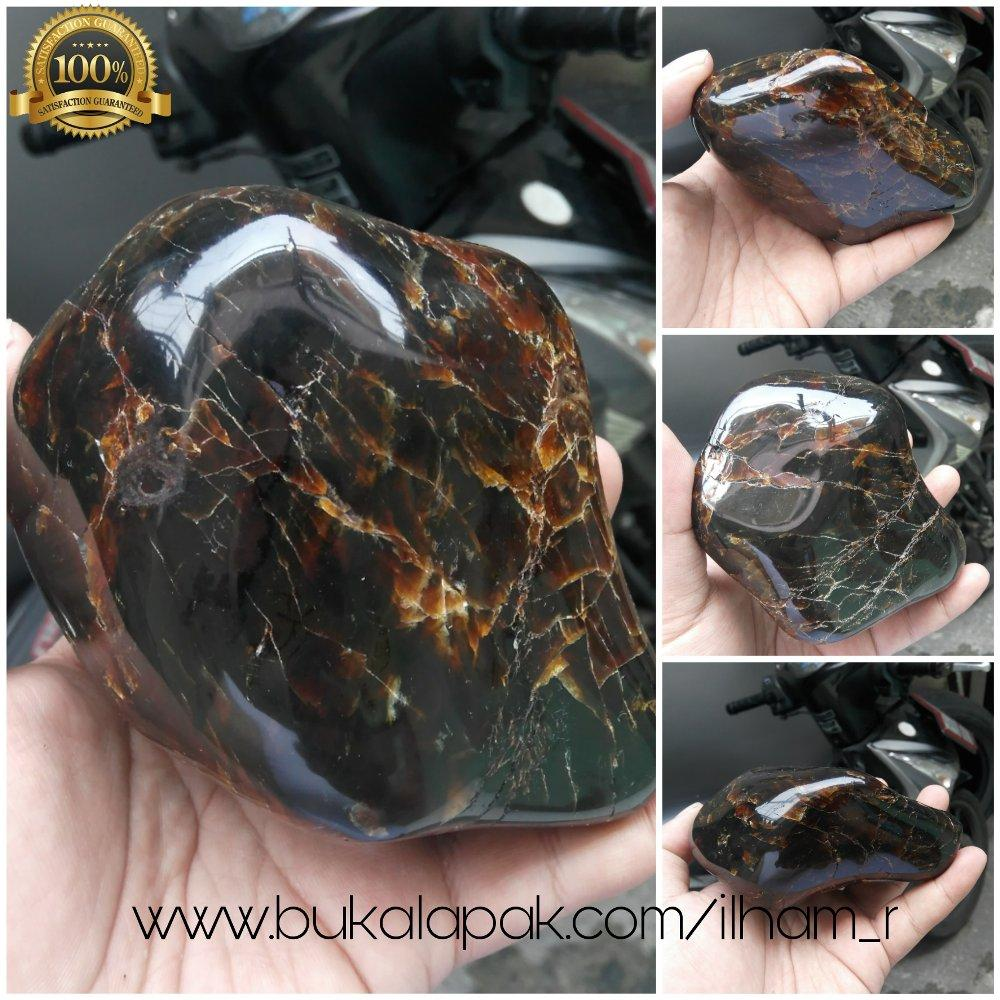 Promo Murah Getah Katilayu Asli Bentuk Unik Super Besar Full Poles By Central Gemstone Shop.