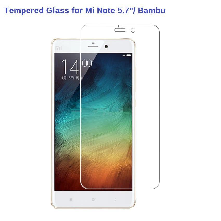 Tempered Glass for Xiaomi Mi Note Bambu / Mi Note 5.7 inch Screen Protector (Clear