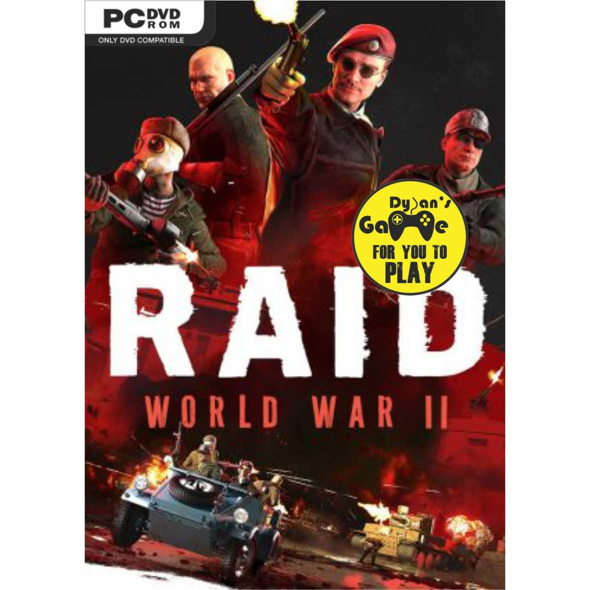 RAID World War II The Countdown Raid DVD Game PC, PC Games