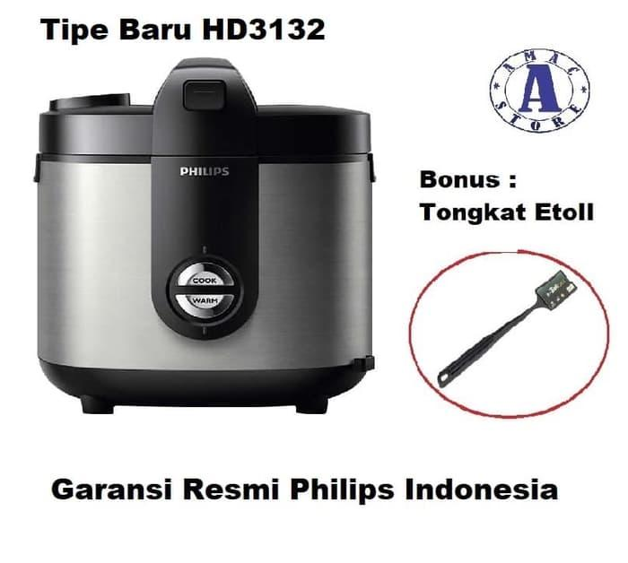 Philips HD3128 Rice Cooker Jar Pro Ceramic 2 Liter - Magic Com HD 3128