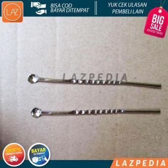 Pencarian Termurah Laz COD - 2pcs - Korek Kuping Besi Silver Awet Murah Tahan Lama - Lazpedia sale - Hanya Rp7.638