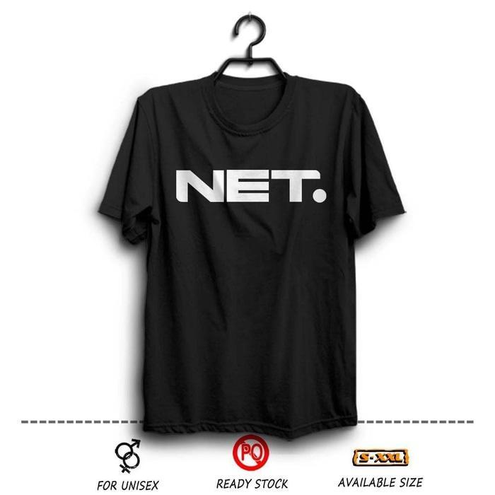 Kaos Distro Net TV Indonesia Wfcloth