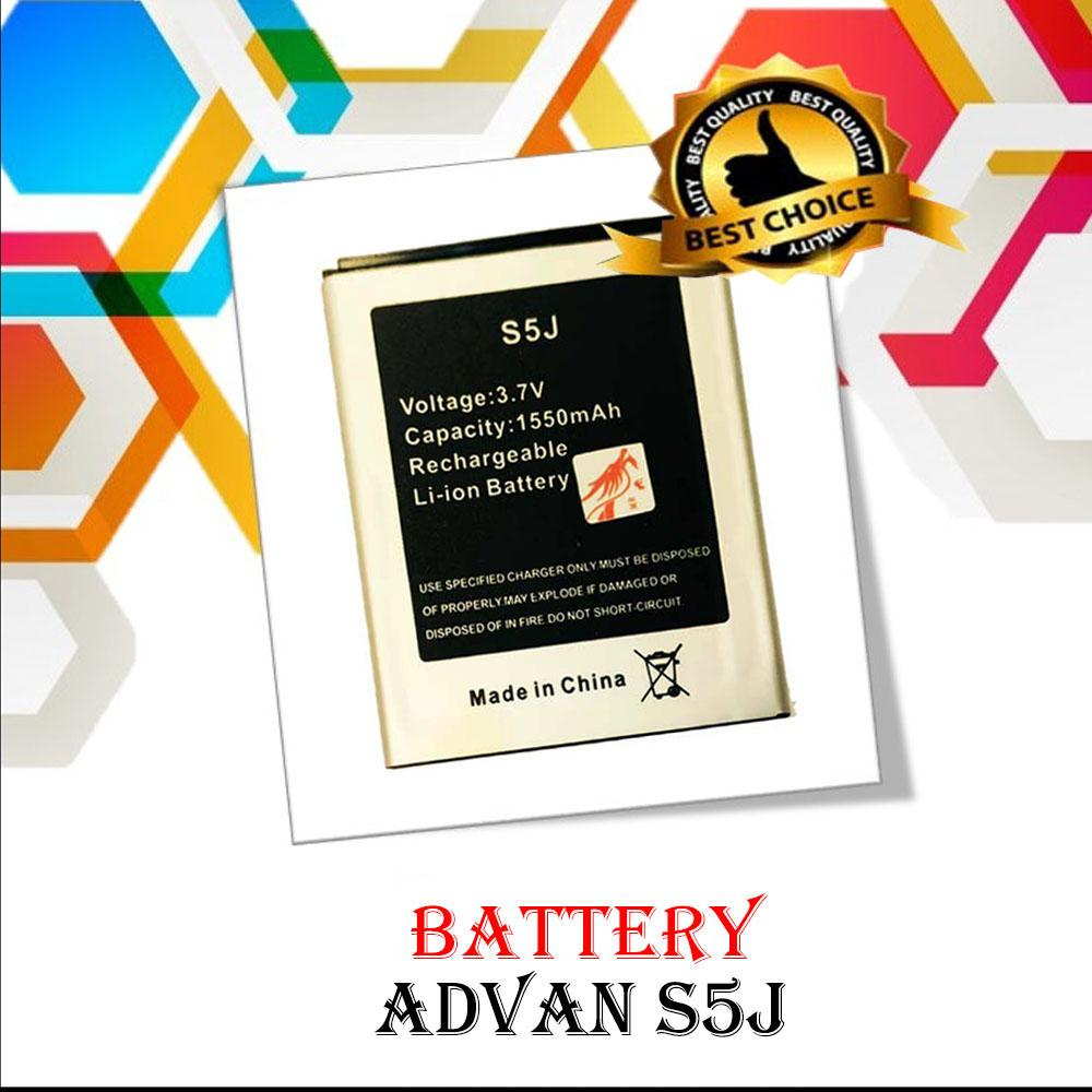 Jual Beli Advan Vandroid S5j Smartphone Quadcore Icantiq Batterai Compatible For 1550 Mah Double Power Baterai