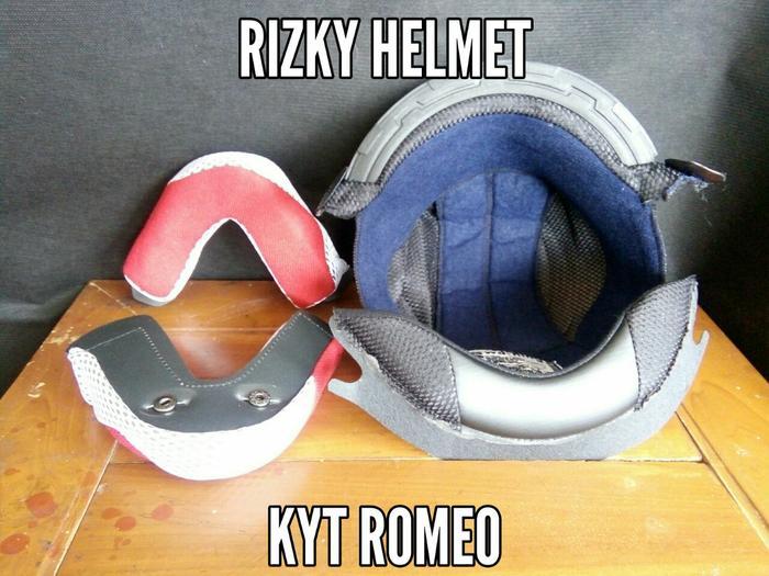 Busa helm Kyt Romeo || helm kyt / helm bogo / helm full face / helm ink / helm sepeda /helm motor/helm nhk/helm retro/helm anak/helm gm