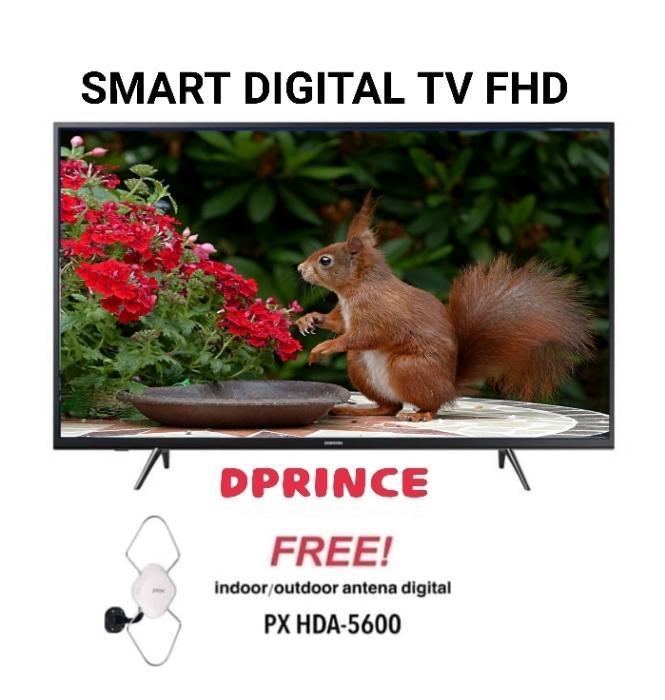 SAMSUNG LED TV 43 Inch FHD Digital 43J5202 + Antena px hda-5600