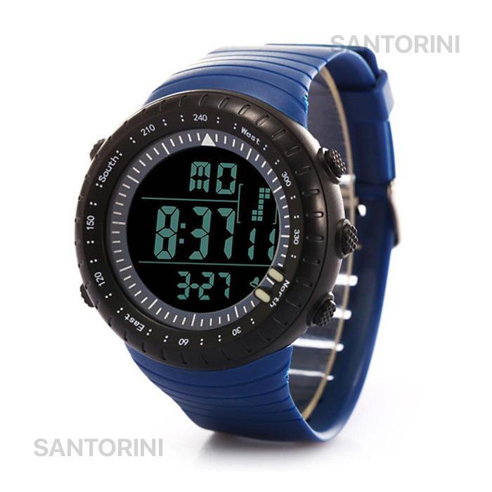 Santorini Jam Tangan Pria Wanita Fashion Casual Sports Digital LED Men  Women Watch 2de6dd1e39