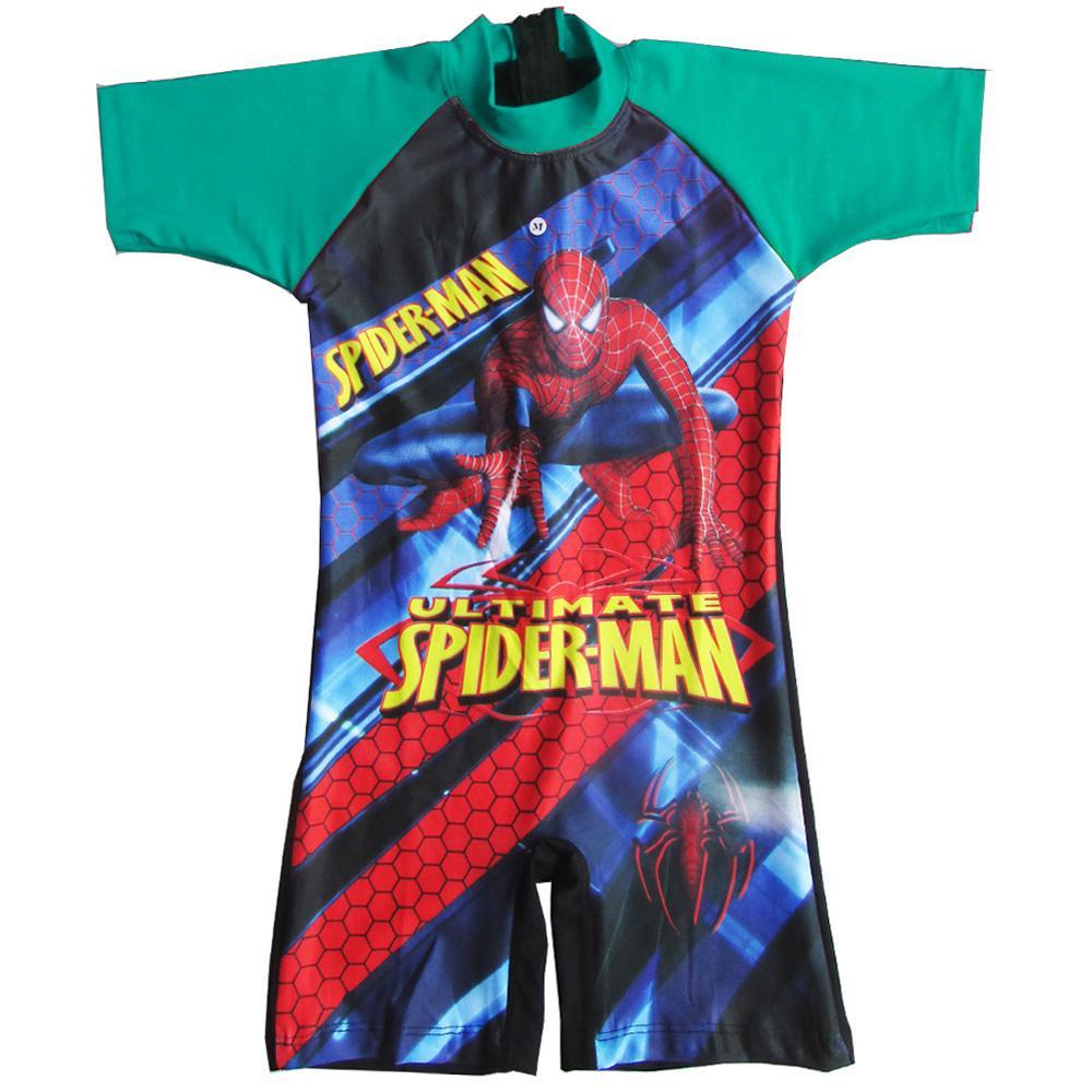 Baju Renang Diving Anak Karakter Spiderman Usia 6-11 Tahun