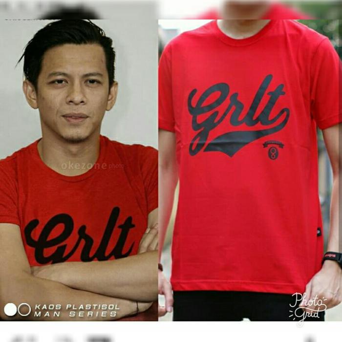 09 Typo 01 T-shirt GRLT Ariel / Kaos Baju Greenlight Ariel - gsM9gi