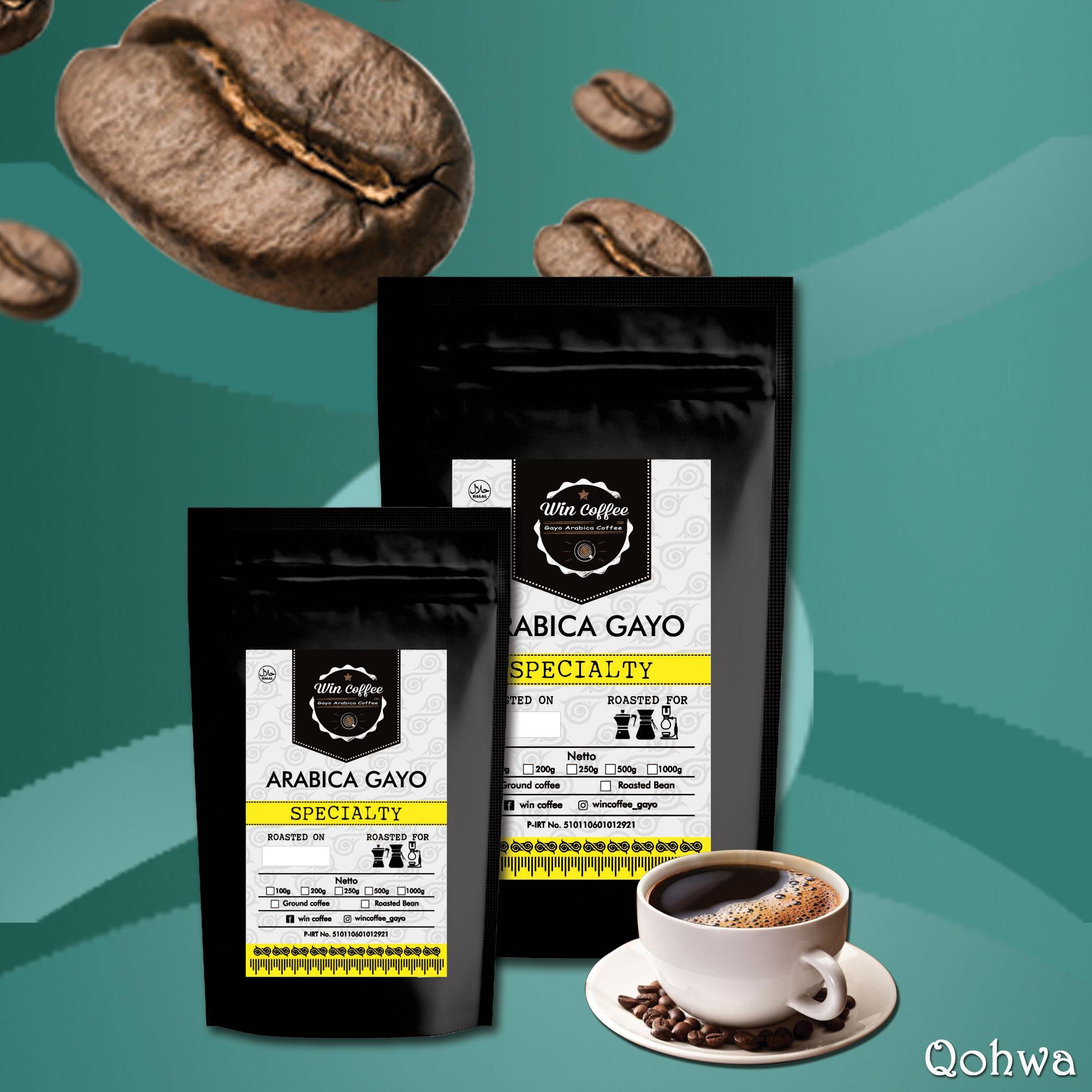Jual Kopi Gayo Original Termurah Arabika Natural Process 500 Gram Biji Dan Bubuk Specialty Qohwa Coffee 100g