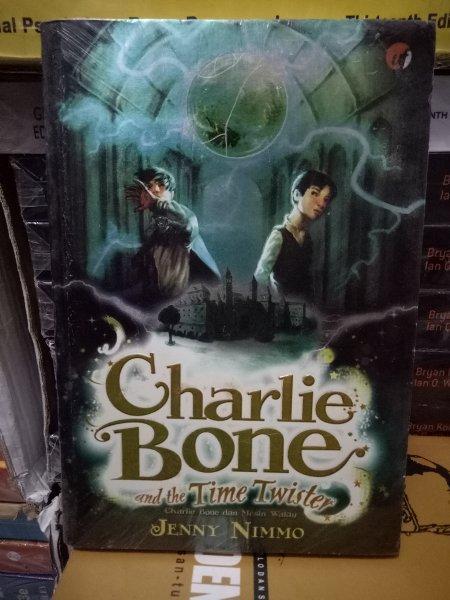 ORIGINAL Buku Novel Charlie Bone and Time Twister Charlie Bone dan Mesin Waktu karangan Jenny Nimmo