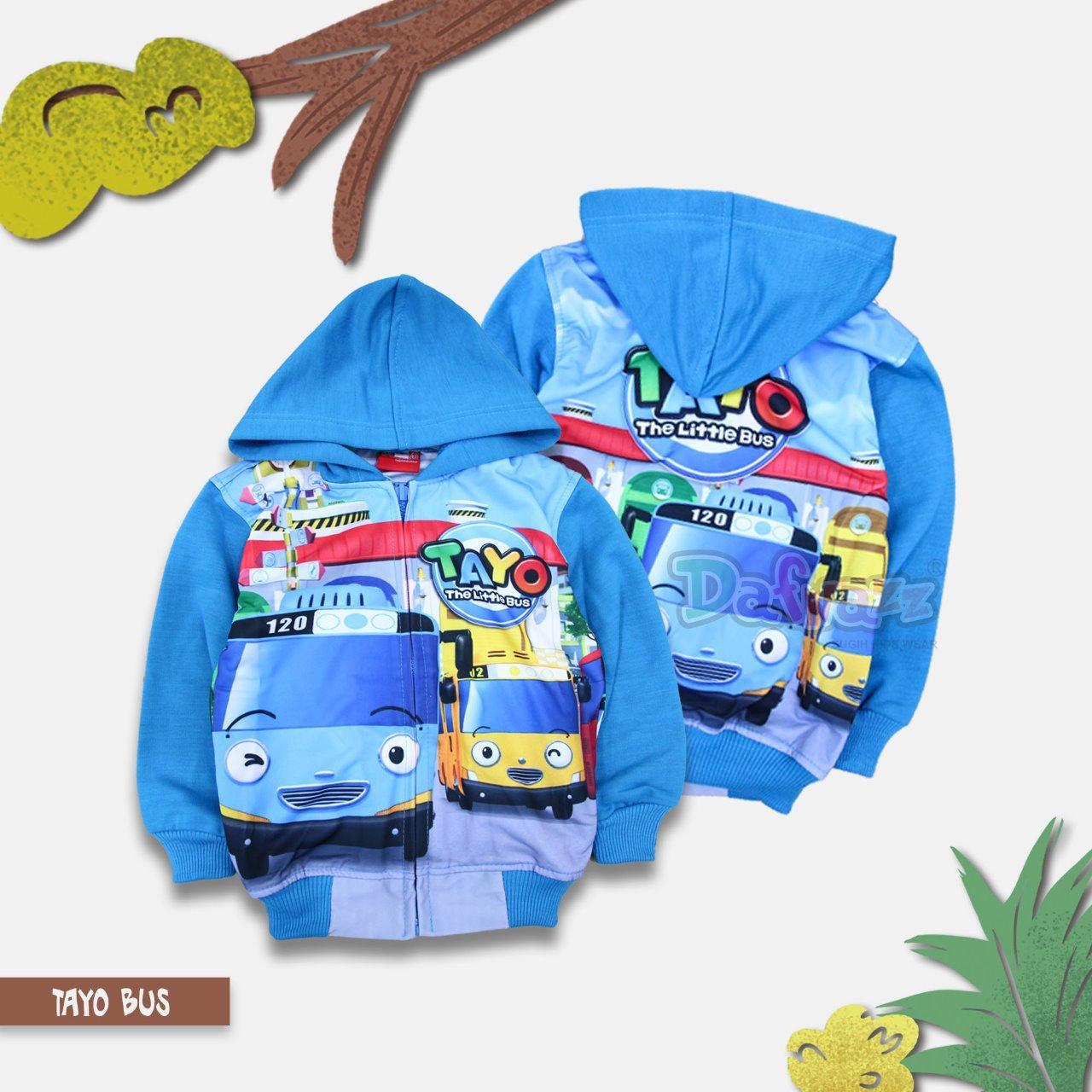 Buy Sell Cheapest Dafnazz Tayo Cute Best Quality Product Deals Katalog Anak Lelaki Jaket Laki Printing Biru