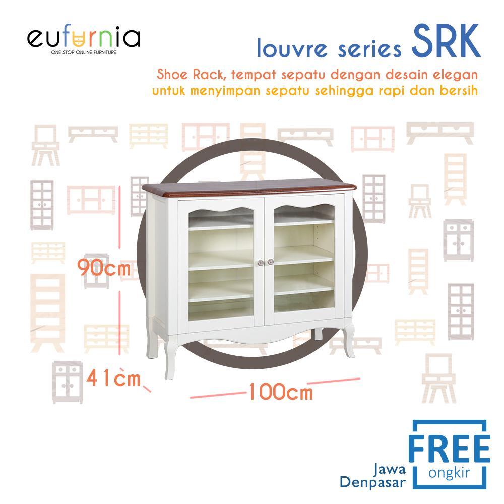 Eufurnia Olympic Louvre Series Shoe Rack Lemari Rak Sepatu European Style - SRK 0871133
