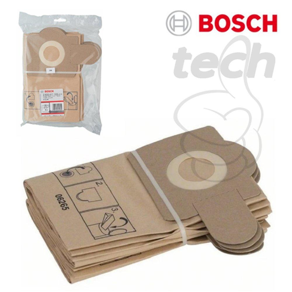Dust Bag for Vacuum Cleaners Bosch GAS 11-21 - Isi 5pcs