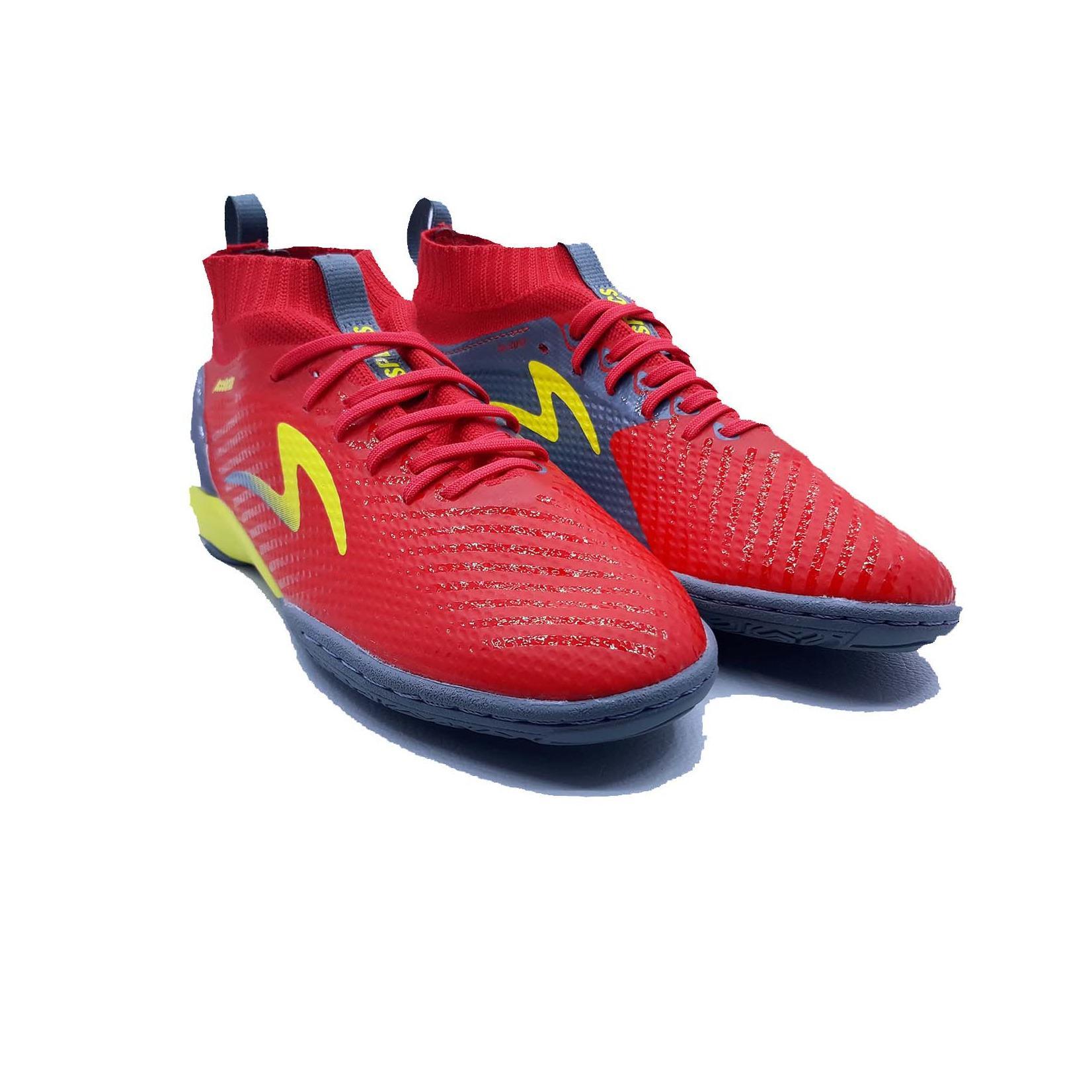 Sepatu Olahraga Futsal Pria Specs Accelerator Infinity in - Emperor Red Dark  Granite Fresh Yellow e5136b60e2