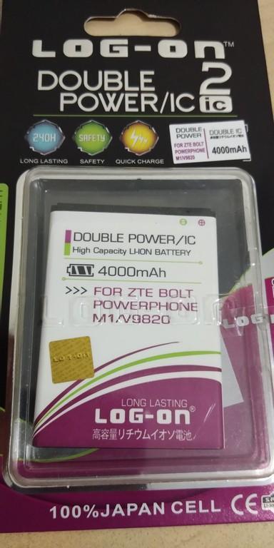 LOGON - Baterai Batrai Batrei Batery Battery Batere Batre Battre Batrey BOLT Power Phone PowerPhone M1