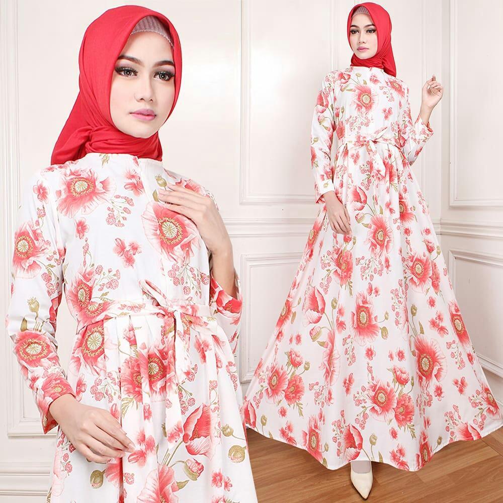 inbox fashion dian star /gamis / Fashion Wanita / Gamis ceruti / Baju Gamis Muslim Wanita / Maxi Hijab Dress / Dress Muslim Andini /tunik /blouse /fashion cewekk