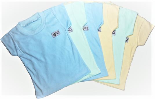 Fiona 6pcs Baju Kaus Anak Bayi Kaos Oblong Lengan Pendek Warna Laki Laki Dan Perempuan Fang Fang By Fiona Baby Shop.