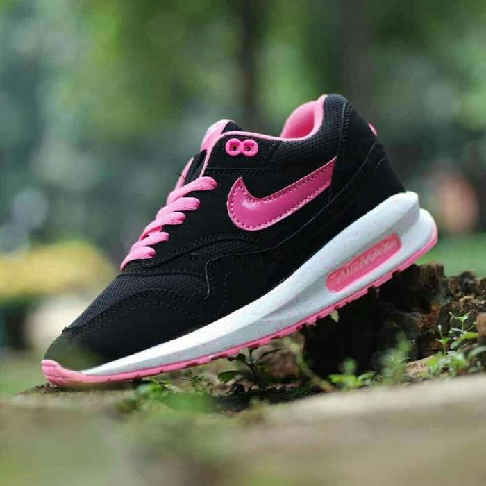 Promo Sepatu Sekolah Casual Kets Nike Airmax Lunar Woman Cewe Gratis Ongkir