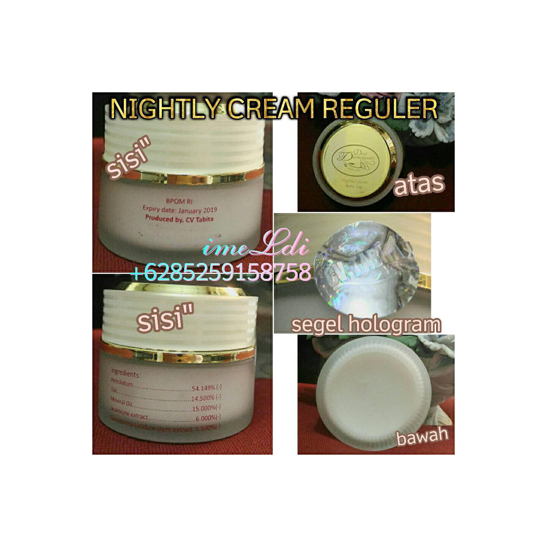 tabita skincare dds desi damayanti skincare krim siang malam reguler