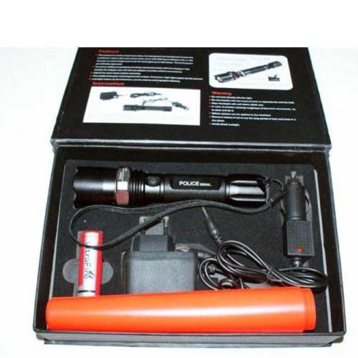 Senter/Flashlight Swat Police Kompas 8460-1 Original