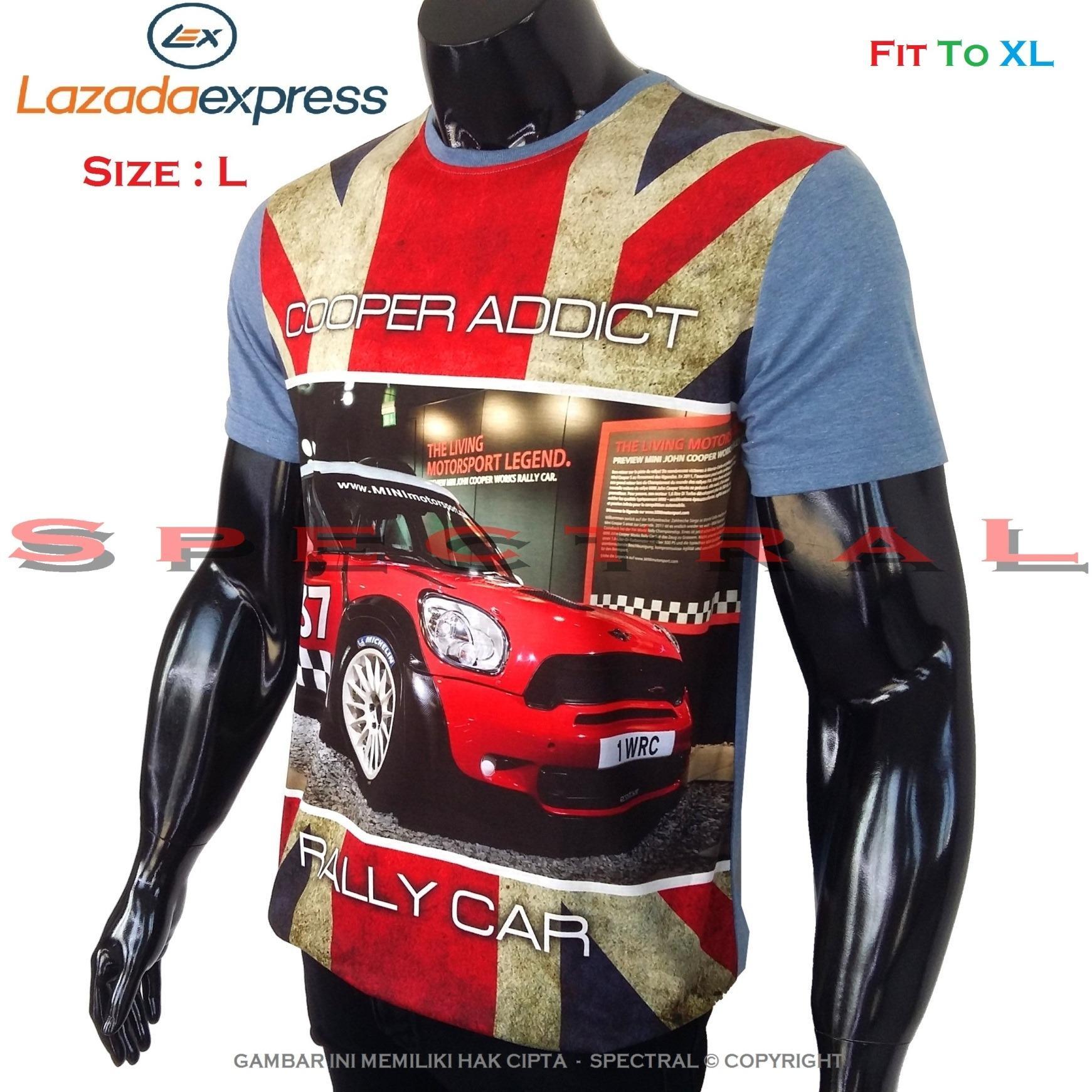 Spectral – 3D COPPER Kualitas HD Printing Size L Fit To XL Soft Rayon Viscose Kaos Distro Fashion T-Shirt Atasan Oblong Baju Pakaian Polos Shirt Pria Wanita Cewe Cowo Lengan Murah Bagus Keren Jaman Kekinian Jakarta Bandung Gambar Mobil Mini Otomotif