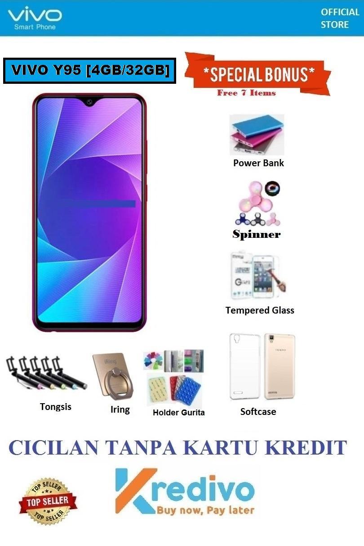 Vivo Y95 Ram 4GB/32GB - Bisa Cicilan Tanpa Kartu Kredit + Free Bonus 7 Items