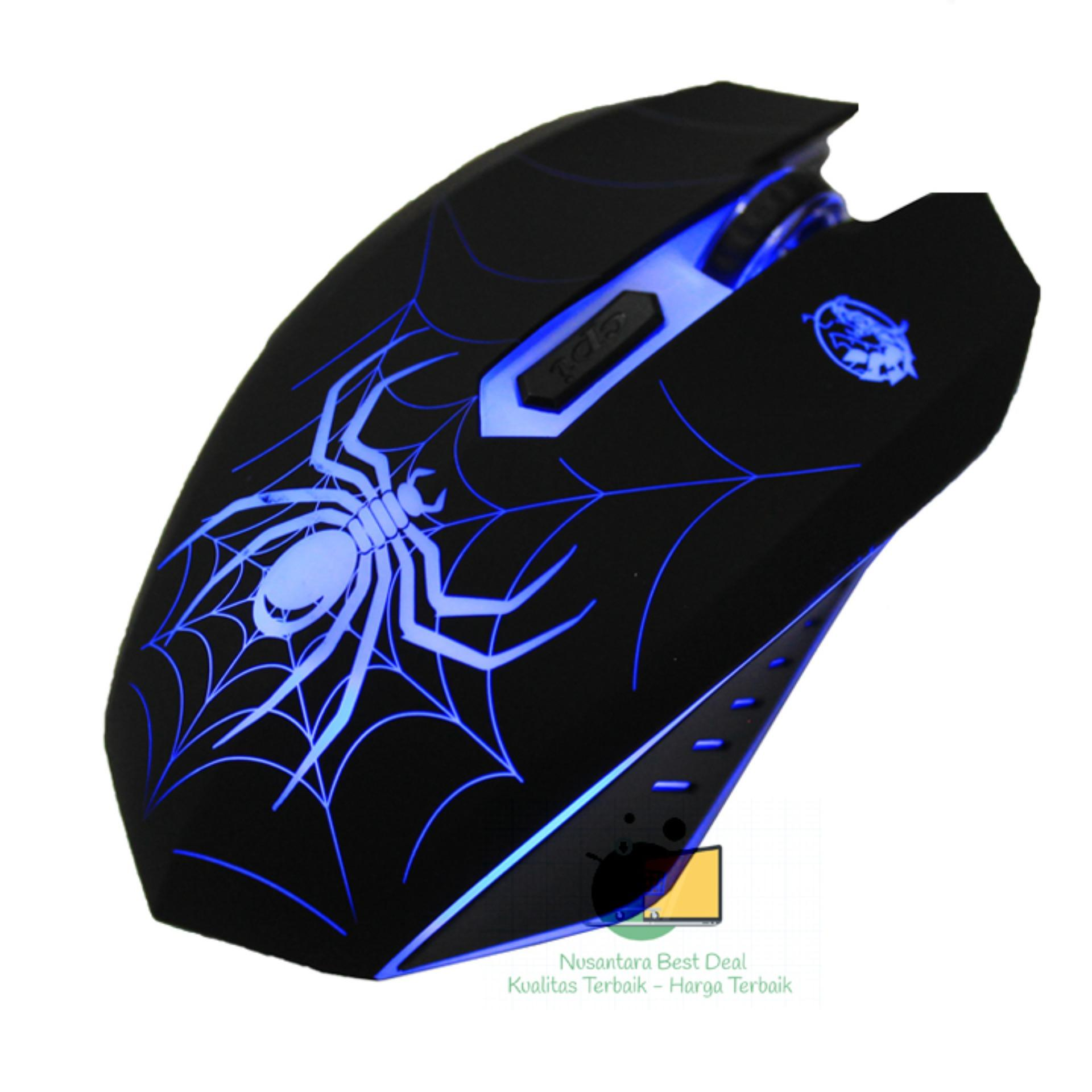 Buy Sell Cheapest Imperion Black Widow Best Quality Product Deals Mech7 87keys Mechanical Gaming Keyboard Mouse S300 Wired Original