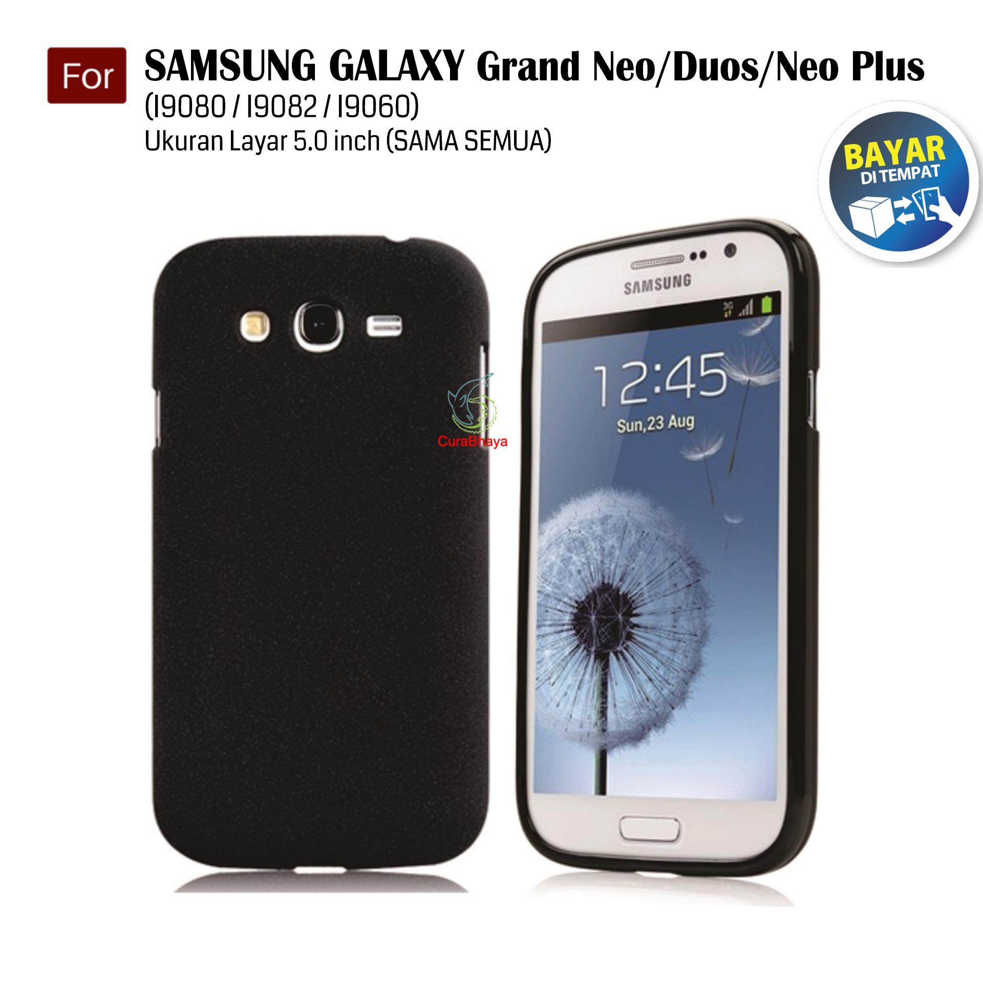 MidNight Samsung Galaxy Grand 1 / Neo / Plus / Duos / I9080 / I9082 / I9060 | Slim Case Black Matte Softcase Premium Baby Skin - Hitam