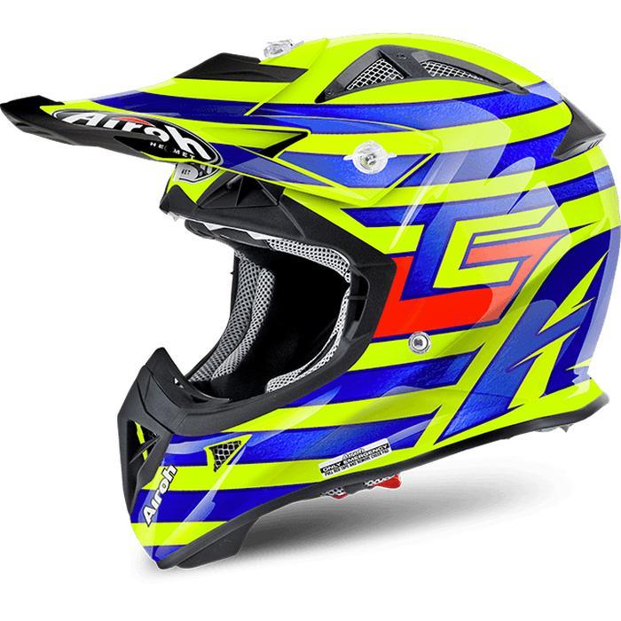 AIROH AVIATOR-J Cairoli Qatar Helm Motocross Anak Size