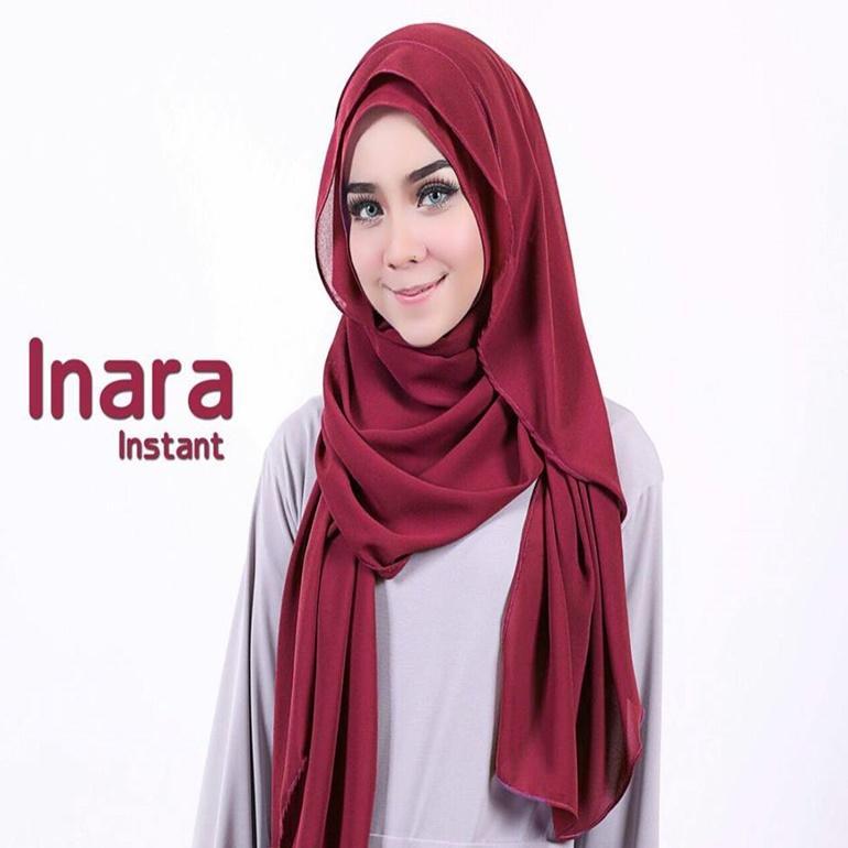 Jilbab Inara Kerudung Instan
