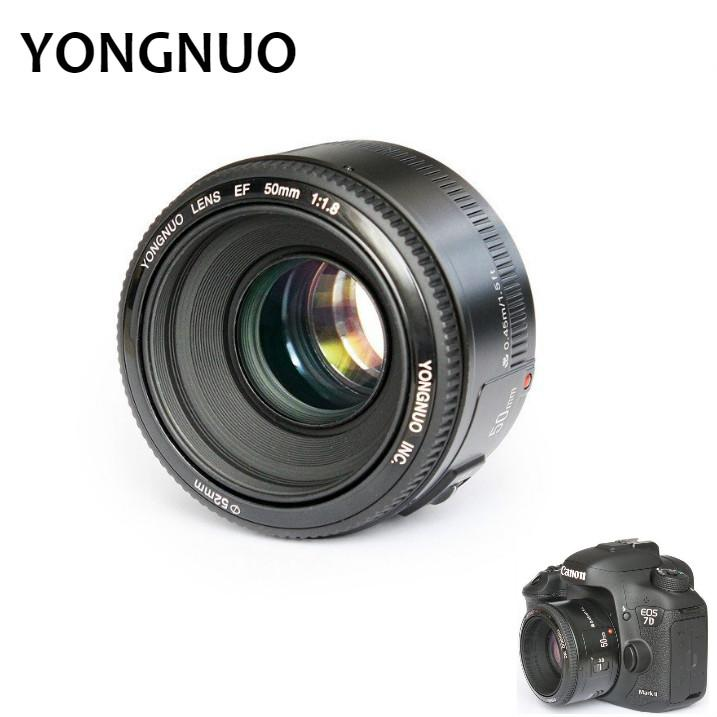 YONGNUO YN50mm F1.8 Lens Large Aperture Auto Focus Lens For Canon EF Mount EOS Professional Camera 1PCS - Live Birds